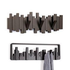 Sticks & Skyline Coat Hooks Pair