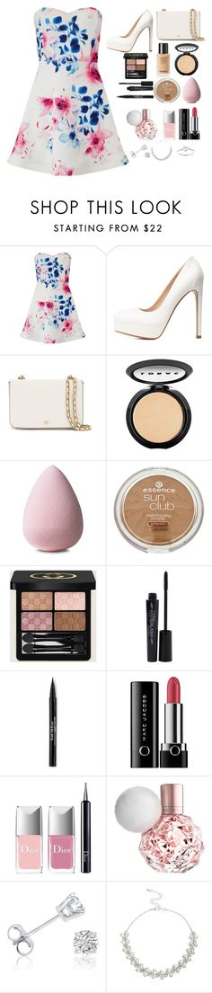 """""""Graduation. (read description)"""" by zombiegirl101 ❤ liked on Polyvore featuring Lipsy, Charlotte Russe, Tory Burch, LORAC, Gucci, Smashbox, Trish McEvoy, Marc Jacobs, Christian Dior and Amanda Rose Collection"""