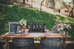 Southern California Rustic Wedding - Rustic Wedding Chic