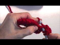 Aprende a hacer el Punto Alto de crochet. Videotutoriales y patrones gratis