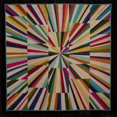 Fireworks Quilt by Tara Faughnan, an individual MQG member