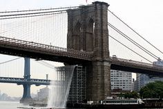 """Waterfalls"", Olafur Eliasson, NYC"