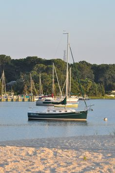 a private harbor out in Sag Harbor