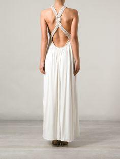 Stella Pardo cross strap dress #summer #dress #wedding