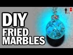 DIY Fried Marbles - Man Vs. Pin - Pinterest Test #43 - YouTube  Sorry about the language - supposedly tried to edit, they did a lousy job. But info interesting