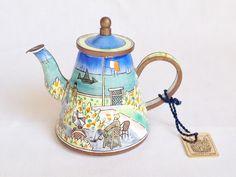 Claude Monet - Garden at Sanite - Trade Plus Aid teapot