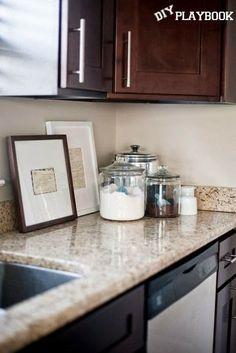Kitchen Decor Ideas - Grandma or Mom's Favorite Recipes on Original Recipe Cards (Framed)