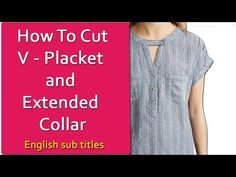 Perfect round collar neck cutting and stitching in Hindi Dress Sewing Tutorials, Sewing Basics, Dress Neck Designs, Blouse Designs, Blouse Tutorial, Sewing Collars, Sewing Patterns For Kids, Sewing Ideas, Sewing Tips