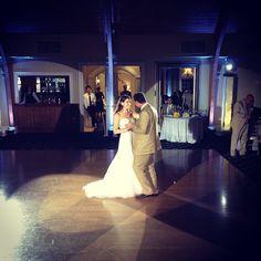 First Dance || Amanda & Chris || Bonnet Island || Spot/Dance Floor Lighting || 6.1.13 || #Unforgettabledjs #Lighting #BonnetIsland