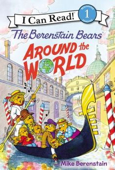 "Read ""The Berenstain Bears Around the World"" by Mike Berenstain available from Rakuten Kobo. Travel the world in the Anywhere-Anyplace Machine with the Berenstain Bears in this lively addition to the classic New Y. The Bear Family, Sounding Out Words, I Can Read Books, Berenstain Bears, Books For Teens, Teen Books, Early Readers, Early Literacy, Kids Learning"