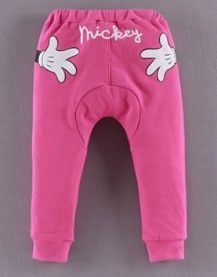 Disney Baby Spring fashion pants for girls across the pants