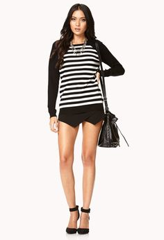 Essential Striped Pullover | FOREVER 21 - 2062591667
