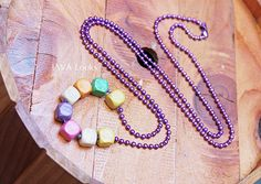 Fashion wooden necklaces handmade jewelry and by JAVALooks on Etsy, $15.48 #fashion #handmade #etsy