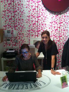 Mylène Hentz, Stella Cadente founder and Dott.ssa Laura Santoro, Stella Cadente Milano