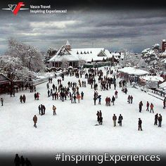 The summer capital of the British Raj, Shimla mesmerises in the winter with its famous mists.