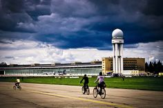 Berlin Tempelhof airport - best ride ever!