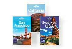 Pacific Coast Travel Guide Set    Lonely Planet