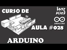 COMO CONTROLAR MOTORES DE PASSO | Curso de Arduino #028