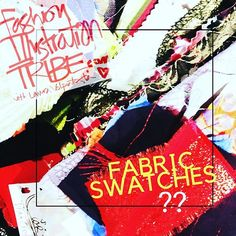 Fabric Swatches-videos- FREEDOM FASHION- YOUTUBE LIVE! — FABRIC SWATCHES!?!?   If you love to create fashion art and want to do it from a design point of view (some do, some don't)--   i can't imagine anything i'd recommend higher than building a collection of fabric swatches.   Because when you start designing mini collections for your portfolio or a real line of clothes, your fabric is your raw material!   It sets the tone for your ideasbefore you start sketching!  You want choices.   You…