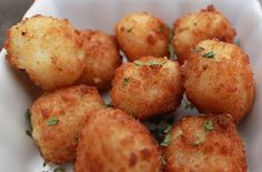 Curts Delectable Creations: Leftover Mashed Potato Appetizer Recipe