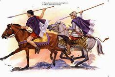 Orden de Batalla. Historia Militar: El Ejército de Alejandro Magno. Caballería de Tesalia