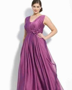 See sleeveless #plussizeeveninggowns for a wedding or gala at www.dariuscordell.com