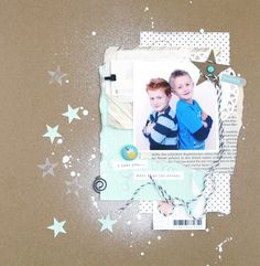 *Katharina Frei* - Kreatives Sammelsurium: Shimmer – ein ScrapbookingLayout