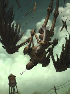 """""""The Icarus Fish"""" 