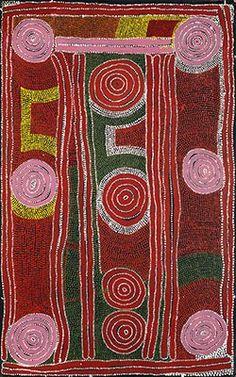Paddy Jupurrula Nelson, Karrku, 1997, acrylic on canvas.