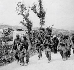 Germans paratroopers in Crete 1941