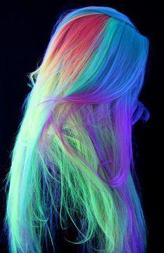 Pretty Hair Color, Beautiful Hair Color, Hair Color Purple, Hair Dye Colors, Vivid Hair Color, Purple Hair Highlights, Hair Streaks, Creative Hair Color, Split Dyed Hair