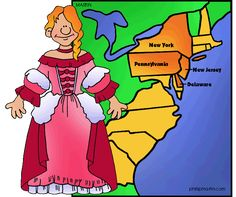 The Middle Colonies - 13 Colonies - FREE Powerpoints for US History