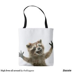 High fives all around #Tote-Bag