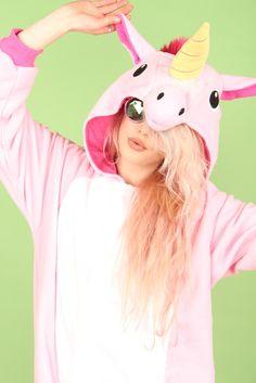 Premium Royal Pink Unicorn Onesie | Onesieful