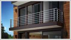 Balcony Glass Design, Glass Balcony Railing, Balcony Grill Design, Balcony Railing Design, Window Grill Design, Iron Balcony, Terrace Design, Balcony Decoration, Deck Railings
