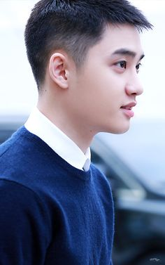 D.O - 161204 'Hyung' relay stage greeting Credit: Missing You. ('형' 릴레이 무대인사)