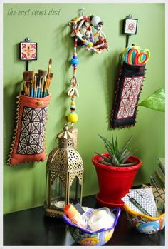Craft Organization Small Space Diy Organizing Ideas 43 New Ideas, – Home Office Design Diy Arts And Crafts Storage, Diy Arts And Crafts, Diy Crafts, Craft Storage, Desk Storage, Office Storage, Bedroom Storage, Kitchen Storage, Food Storage