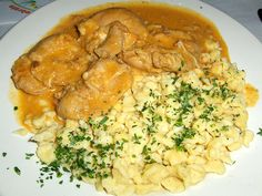 Crock Pot Chicken Paprikash...this was better than I thought it would be!!