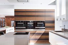 bookmatched smoked oak | glass | quartz @openhauskitchens #kitchendesignspecialists #openhauskitchens #horsham #fb