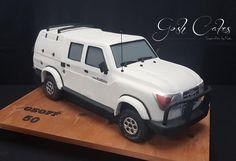 Toyota Land Cruiser Dbl Cab by GoshCakes