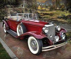 1931 Chrysler CG Imperial Dual Cowl Phaeton by LeBaron:
