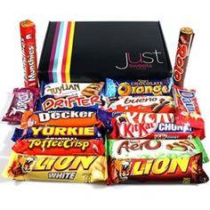 Just Sweets Chocolate Hampers Selection Heaven Cosmic Treasure Gift Box