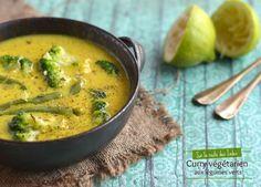 Curry végétarien aux légumes verts