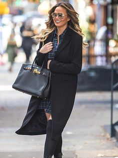 Star Tracks: Tuesday, December 1, 2015 | BIRTHDAY BABE | Mom-to-be Chrissy Teigen celebrates the big 3-0 on Monday with a day out in N.Y.C. – two nights after her birthday bash at a New York City comedy club, hosted by her husband, John Legend.