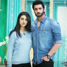 Most beautiful couple. ♥😍 sara khan and Agha Ali. Pakistani Girl, Pakistani Actress, Pakistani Bridal, Bollywood Actress, Top Celebrities, Celebs, Pakistan Wedding, Cute Actors, Girly Pictures