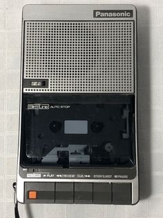 Panasonic Portable Cassette Tape Recorder RQ-2736 with A/C Adapter #Panasonic