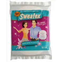 Sweatex Disposable Underarm Sweat Pads