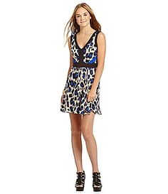 GB AnimalPrint Dress #Dillards