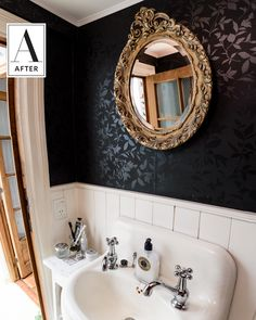 Before and After: Two Bathrooms Go from Revolting to Reborn | Apartment Therapy