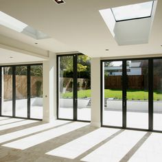 offer a wide range of modern from to bifolding doors and These aluminium systems boast impressive levels of performance and quality fabrication. For a beautifully minimalistic design, the Sliding Doors has an impressive thin frame measuring only Aluminium French Doors, Aluminium Windows And Doors, Outdoor Doors, Patio Doors, Minimalist Design, Modern Design, Glass Room, French Doors Patio, Urban Architecture